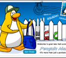 Penguin Mail postcard