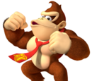 Charakter aus Donkey Kong Country 3: Dixie Kong's Double Trouble!