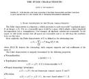 Caracteristica Euler