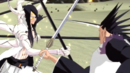 Nnoitra and Kenpachi cross blades episode 4 SR.png