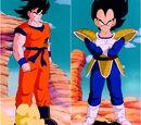 Son Goku vs. Vegeta