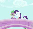 La relación de Spike y Rarity
