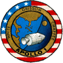 595px-Apollo 1 patch.png