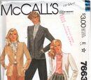 McCall's 7663 A