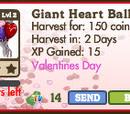 Giant Heart Balloon Tree