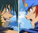 Gingka vs Kyoya