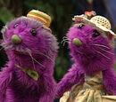 Otto and Etta Otter