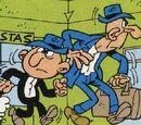 """Agente alto y flaco (""""El caso de los parvulos"""")"""