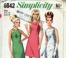 Simplicity 6842 A