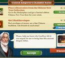 Unlock Emperor's Chamber Scene