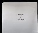 Departure (manuscript)