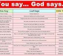 Contradicții ale Bibliei