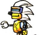 Mecha Sonic (Scrambled Egg Zone)