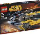 7256 Jedi Starfighter and Vulture Droid