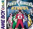 Power Rangers Lightspeed Rescue (GBC)