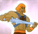 Characters hailing from the He-Man Universe
