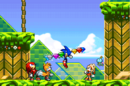 Sonic with all Chaos Emeralds (Sonic Advance 2).png