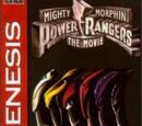 Mighty Morphin Power Rangers The Movie (Sega Genesis)
