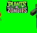 Plants vs. Minecraft Zombies