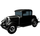 1930s Getaway Car