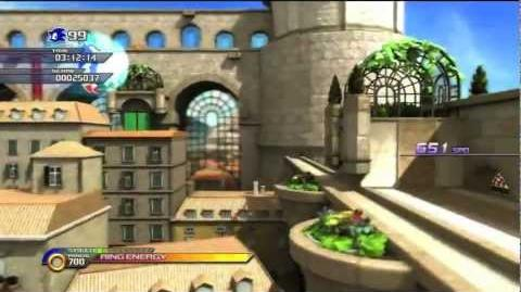 Sonic Unleashed Spagonia Day (Rooftop Run Act 1)