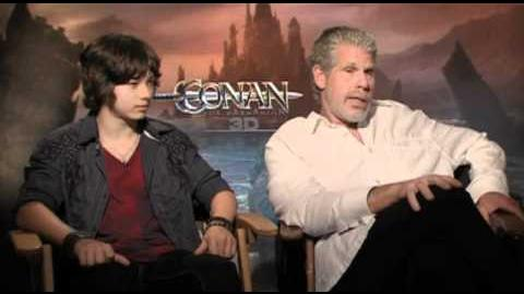 Conan The Barbarian Interview With Ron Perlman And Leo Howard
