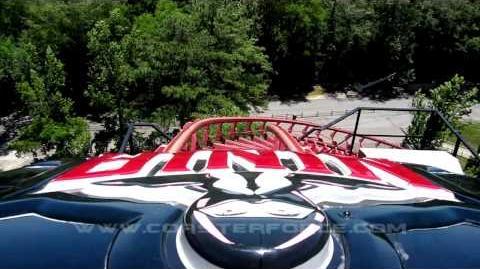 Ninja (Six Flags Over Georgia) - OnRide - (720p)
