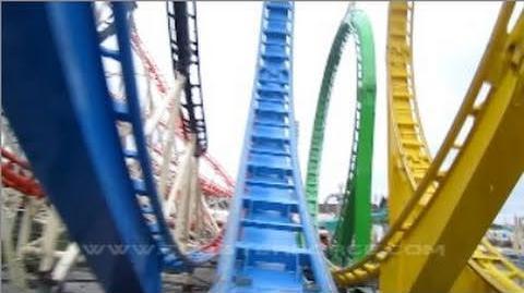 Roller coasters by fair appearances