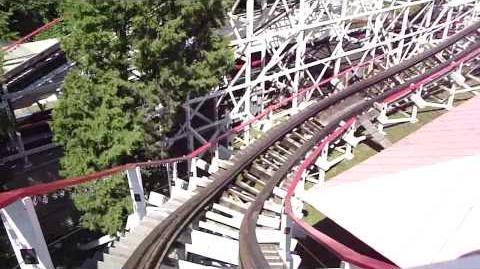 Roller coasters by designer