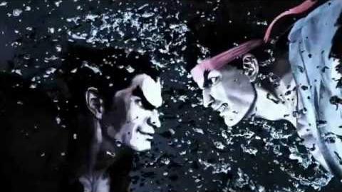 Street Fighter X Tekken Promotion Video 9 Gouki&Vega