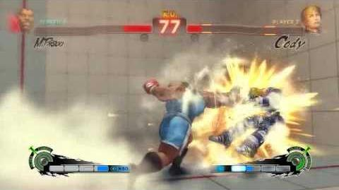 Super Street Fighter 4 - Balrog Ultra 1 Violent Buffalo