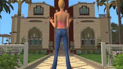 Los Sims 2 Mansiones y Jardines Tráiler