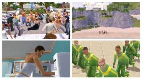 The Sims 3 Addictive TV Video Remix