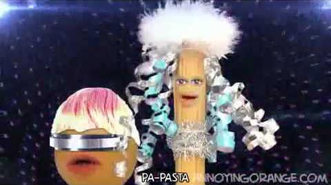Annoying Orange Lady Pasta Song