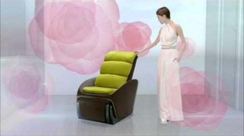 容祖兒 OSIM 按摩美梳化 廣告