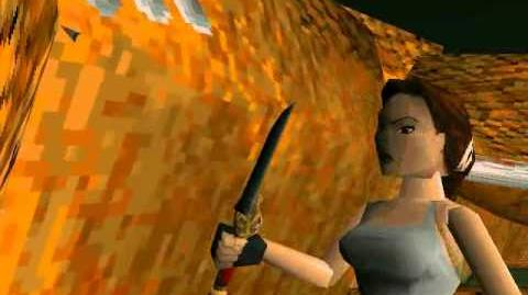 Tomb Raider II Starring Lara Croft Cutscene 11 - Dragon's Lair