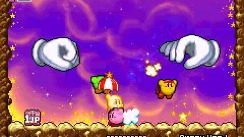 Niveles de Kirby y el Laberinto de los Espejos