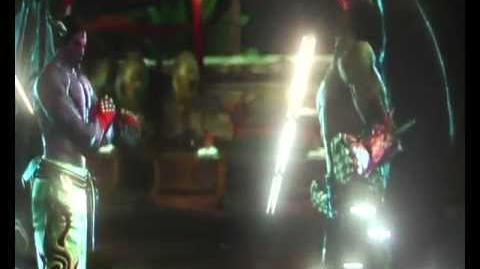 D.Jin D.Kaz Win Pose (Tekken Tag 2)