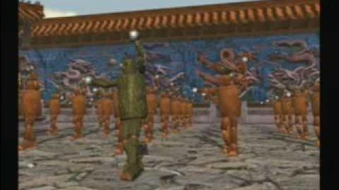 Mokujin Tekken Tag Ending
