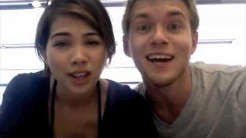 Lemonade Mouth-Determinate-Hayley and Chris Flash Mob
