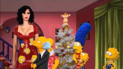 Episódio de Natal dos Simpsons, foi ao ar no último domingo (05/12/10) com participação de Katy Perry