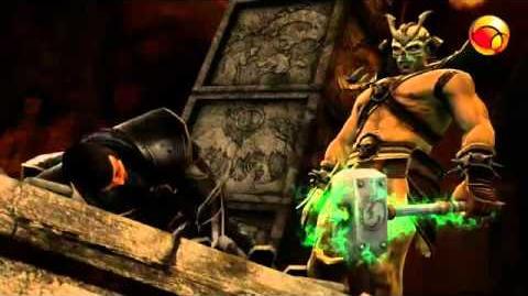 Shao Kahn in MK9 armageddon