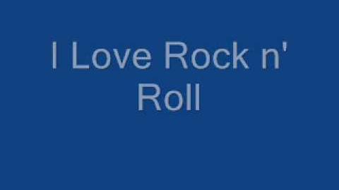Joan Jett I Love Rock n' Roll Lyrics