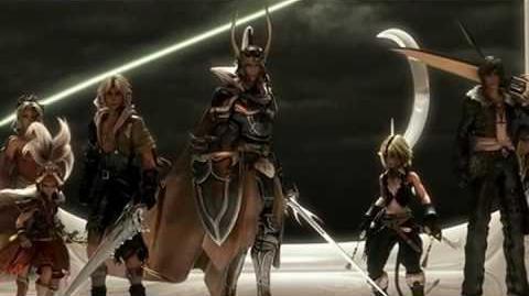Dissidia Final Fantasy opening intro