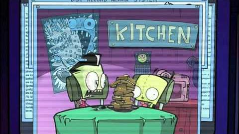 GIR IS WAFFLE CRAZY!!!