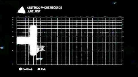 Abstergo Phone Records 1-5
