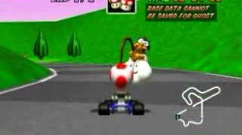 Mario Kart 64 - Jump through the Castle