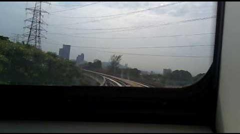 Kelana Jaya to Taman Jaya 4 car light rail update.