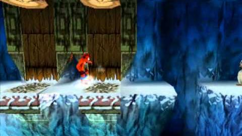 Crash Bandicoot 2 Japanese Level 2 Snow Go