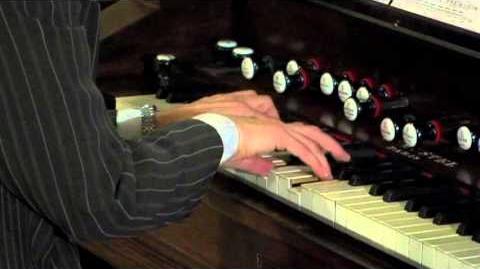 Artis Wodehouse Plays Alexandre Guilmant's 4th Sonata for Harmonium - first movement